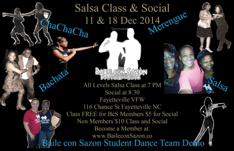 Weekly Salsa Social!